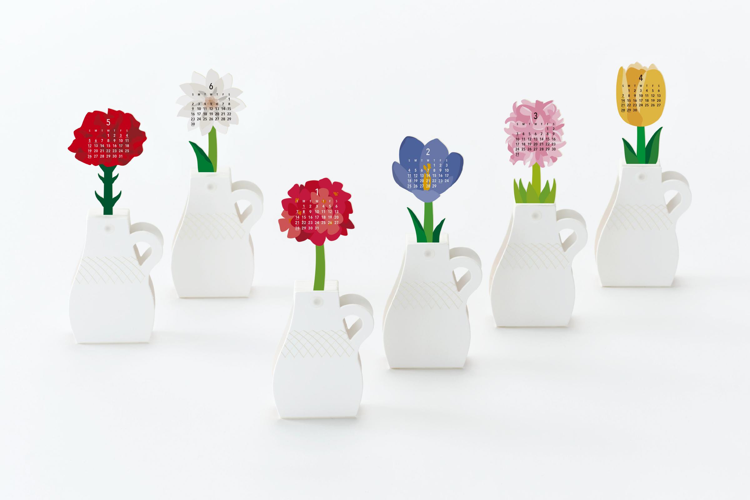 カレンダー flowers good morning inc 株式会社グッドモーニング